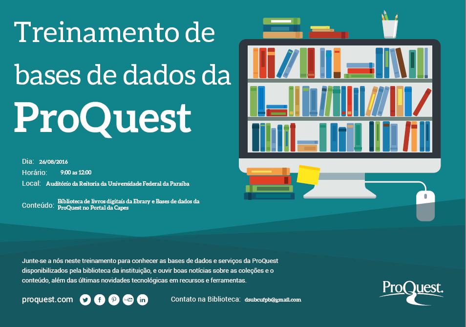 Treinamento ProQuest